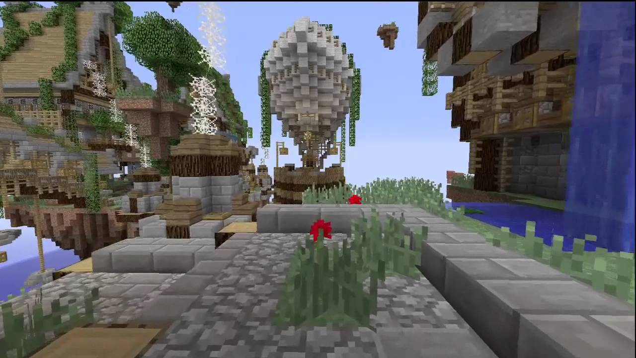 Minecraft (Xbox 360) - Steampunk City with Download! - YouTube