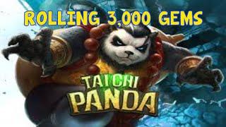 Taichi Panda: 3,000 Gem Roll