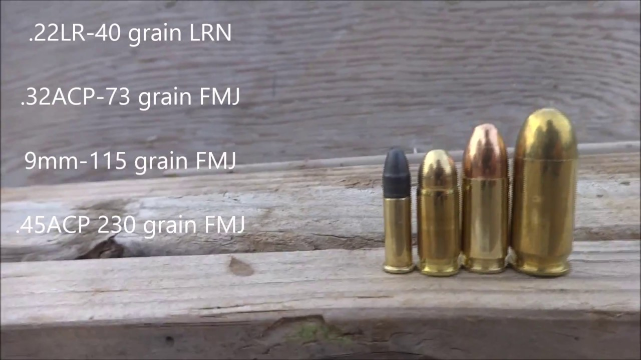 Ammo penetration tests