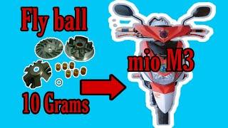 Papano mag palit ng Flyball /10 grams / mio i125 / mio m3