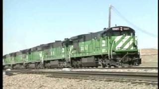 Wyoming Coal Trains