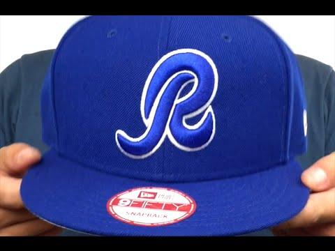 01f46bf1113460 Redskins 'R TEAM-BASIC SNAPBACK' Royal-White Hat by New Era - YouTube