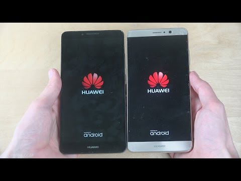 Huawei Ascend Mate 7 Android 6.0 vs. Huawei Mate 9 Android 7.0 - Speed Test!