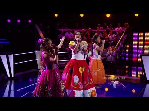 Un trío único de voces canta 'El Mariachi de Mi Tierra'   La Voz Kids 2016