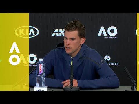 Dominic Thiem press conference (2R) | Australian Open 2018