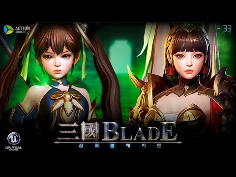 Three Kingdoms Blade (삼국블레이드) - Characters Preview & Gameplay - Mobile - F2P - KR