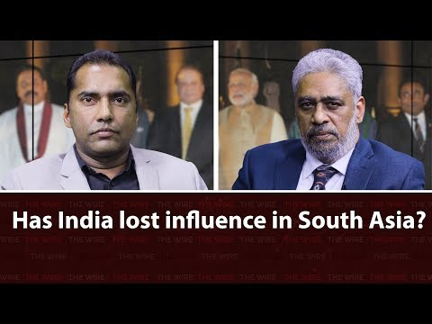 Has India lost influence in South Asia?