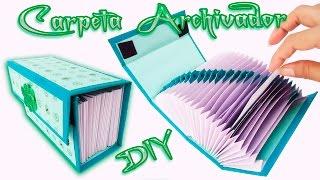 Carpeta Archivadora Scrapbook   carft   Diy / Folder o Caja archivador