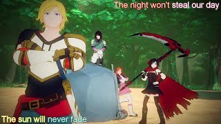 Let's Just Live Lyrics (Full Version) - RWBY Volume 4 OP - Jeff Williams ft. Casey Lee Williams
