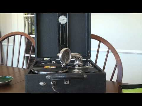 Nirona Compact Portable Gramophone\Phonograph