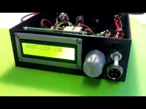Repeat Bitx40 With an OLED Display and the Si5351 by Pete