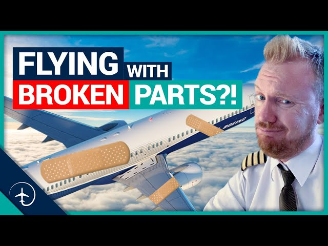 Can Aircraft fly with BROKEN parts?!