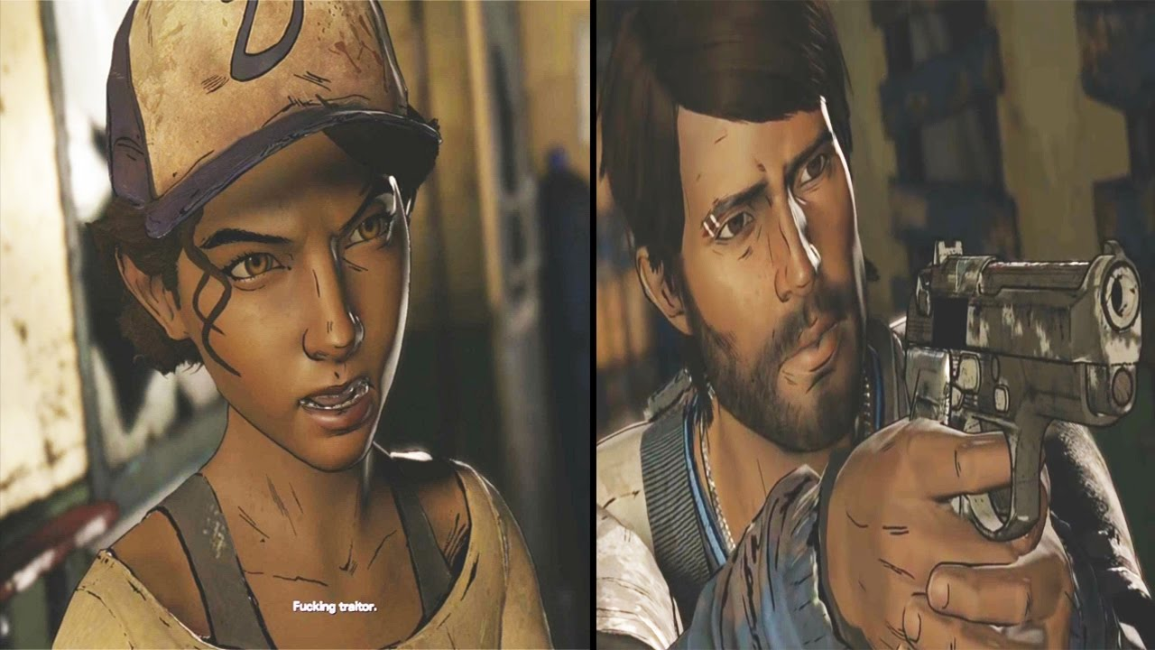 Betray Vs Defend Clementine The Walking Dead Season 3 Game