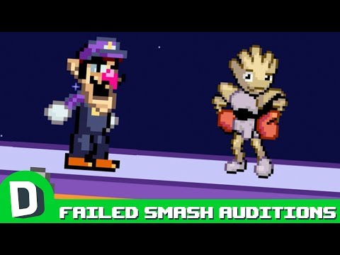 Failed Super Smash Bros. Auditions