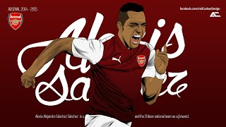 Alexis Sanchez - New Deal - Amazing Goals Skills & Assists - 2014/2015 - HD