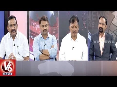 Special Debate On Sarees Distribution | Good Morning Telangana | V6 News