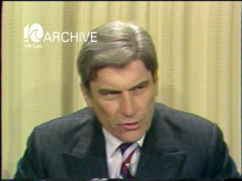 WAVY Archive: 1980 Senator John Warner on Military Pay