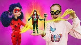 Фото Леди Баг в замедленном городе   Мультики с куклами. Охотники за игрушками