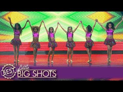 Latin Dance show us their Caribbean dance   Colombia Little Big Shots