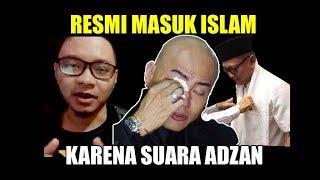 Resmi Masuk Islam Jadi MUALAF Presenter ini Mengaku Karena Suara Adzan
