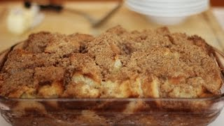 Cinnamon Apple Oat Crunch Breakfast Casserole