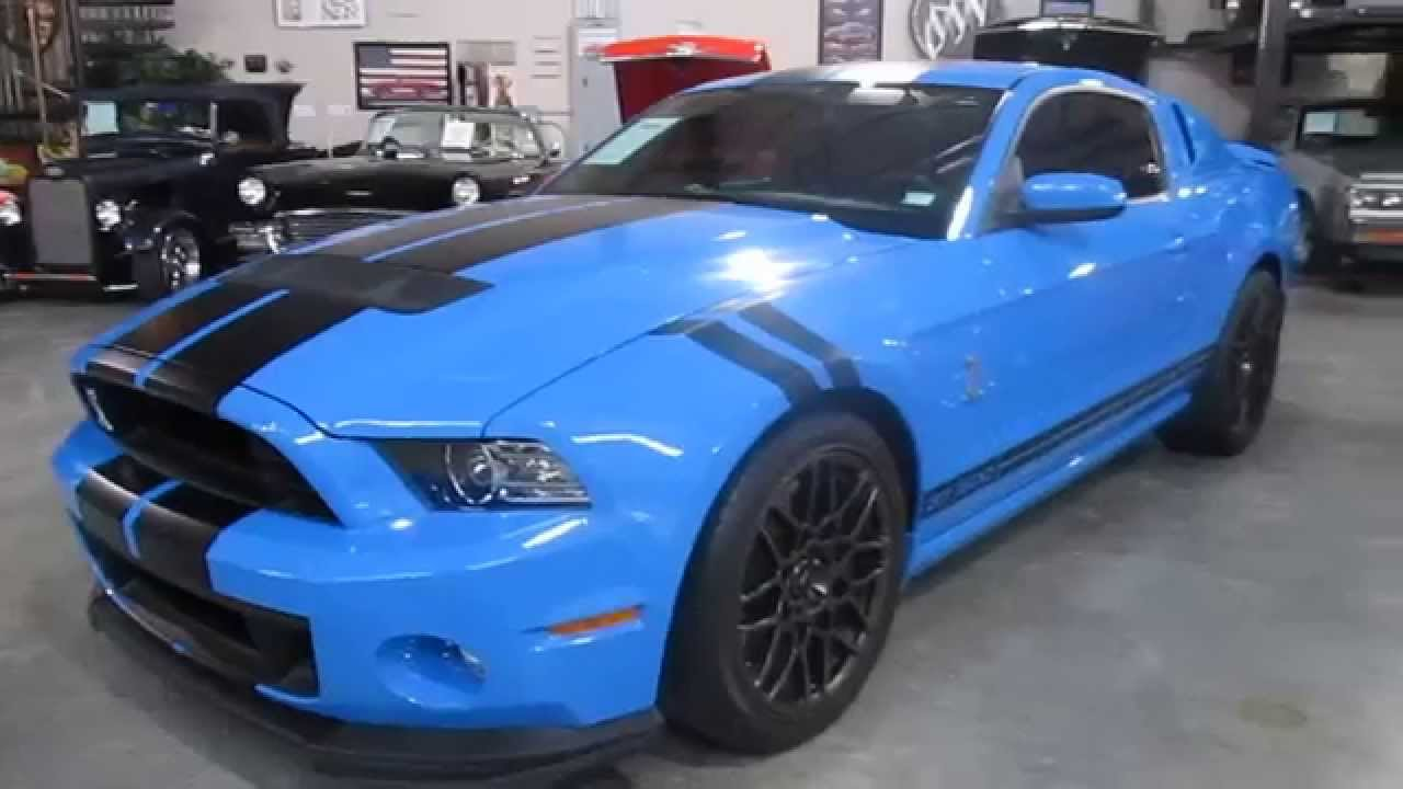 Sold 2013 gt500 grabber blue 662hp for sale passing lane motors youtube