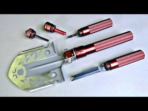 8 in 1 Folding Shovel Axe