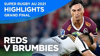 Reds v Brumbies Highlights | Grand Final 2021 | Super Rugby AU