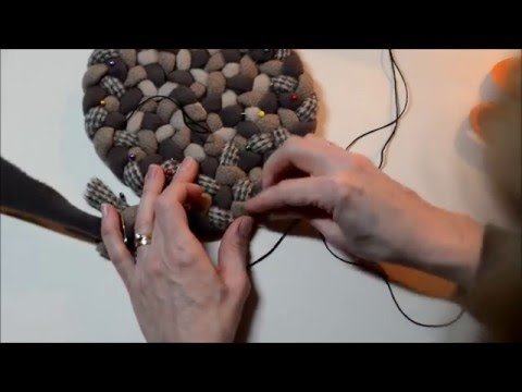 Beginning Rug Iding Lacing Increases In Circles