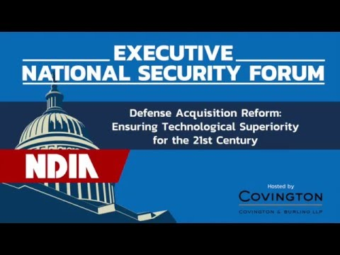 Executive National Security Forum Series