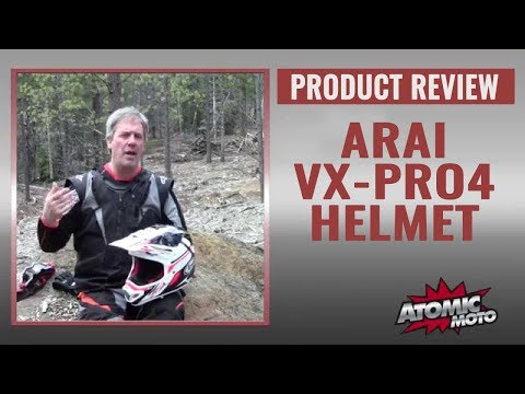 Arai VX-Pro4 Helmet Field Review By Atomic-Moto