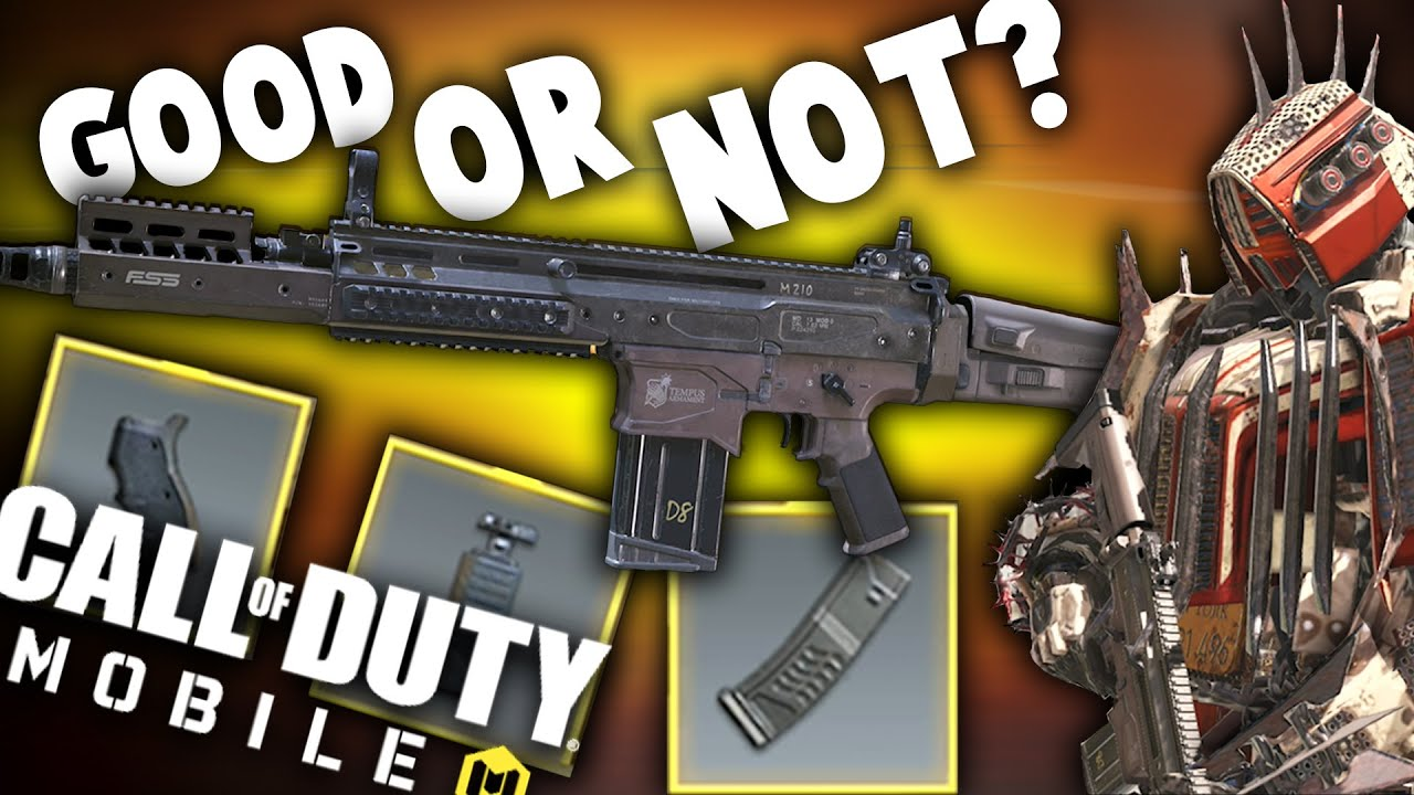 New Free DR-H - Best Class and Attachments - COD Mobile