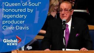 Aretha Franklin funeral: Clive Davis FULL eulogy
