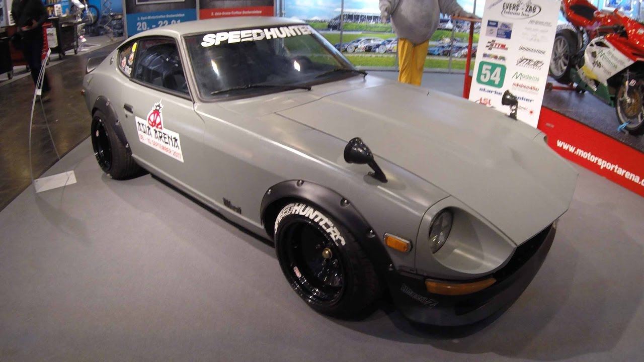 Datsun 240 Z Fairlady Compilation 2 Matte Gray And Brown Colour Walkaround