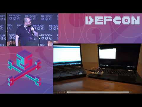 DEF CON 25 - Matt Wixey - See no evil, hear no evil: Hacking invisibly & silently with light & sound