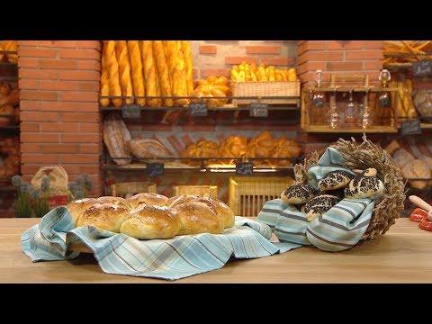 خبز على شكل وردة + خبيزات بالسانوج / مخبزتي / فاطمة الزهراء بوعدو حفصي / Samira TV