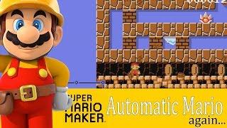 Super Mario Maker: Automatic Mario...Again [Community Levels] - Wii U Gameplay