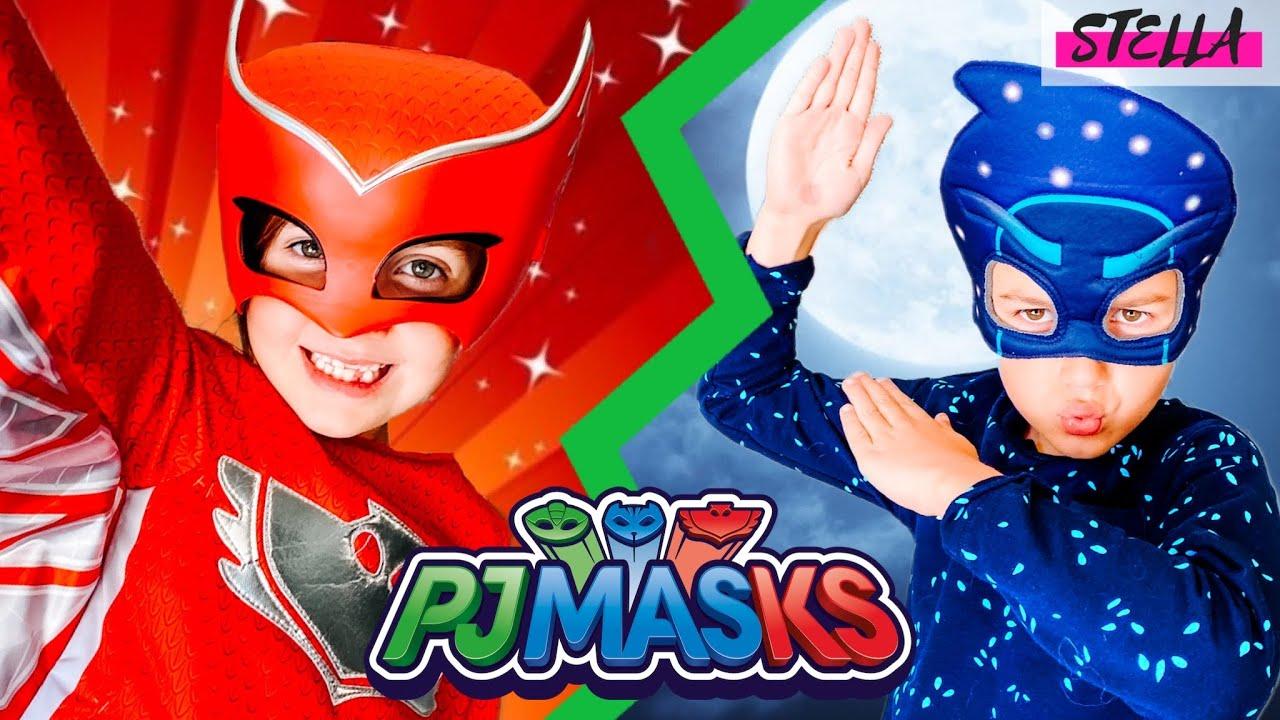 I joined the PJ Masks IRL!