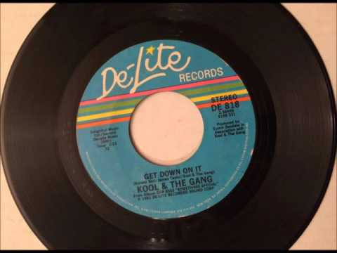 Get Down On It , Kool & The Gang , 1981 Vinyl 45RPM