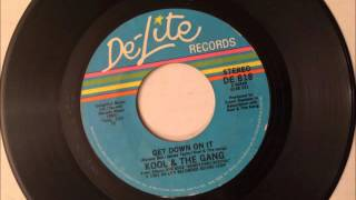 Get Down On It , Kool & The Gang , 1981 Vinyl 45RPM