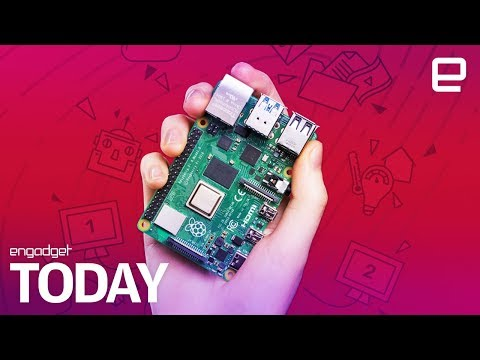 The new Raspberry Pi 4 is ready for 4K video