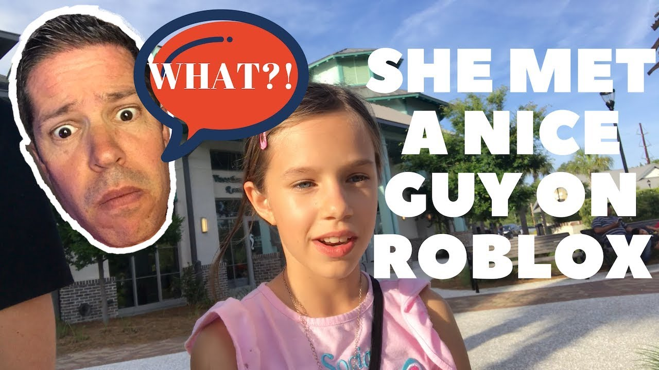 WHAT?! KEIRA MET A REALLY NICE GUY ON ROBLOX? | The Bison Bunch