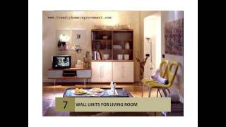 Living Room Furniture Wall Unit