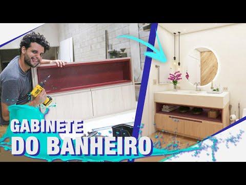 CONSTRUINDO O GABINETE DO BANHEIRO PASSO A PASSO I TEMP03EP78