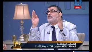 العاشرة مساء| خلاف وتراشق بالالفاظ  بين الدكتور محمد سالم  ووائل الرضوى الشيعى