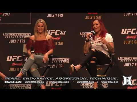 Women Of UFC Panel - Olivi - Jedrzejczyk - Cyborg - Waterson - VanZant (LIVE!)