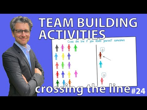 Team Building Activities - Crossing the Line #24