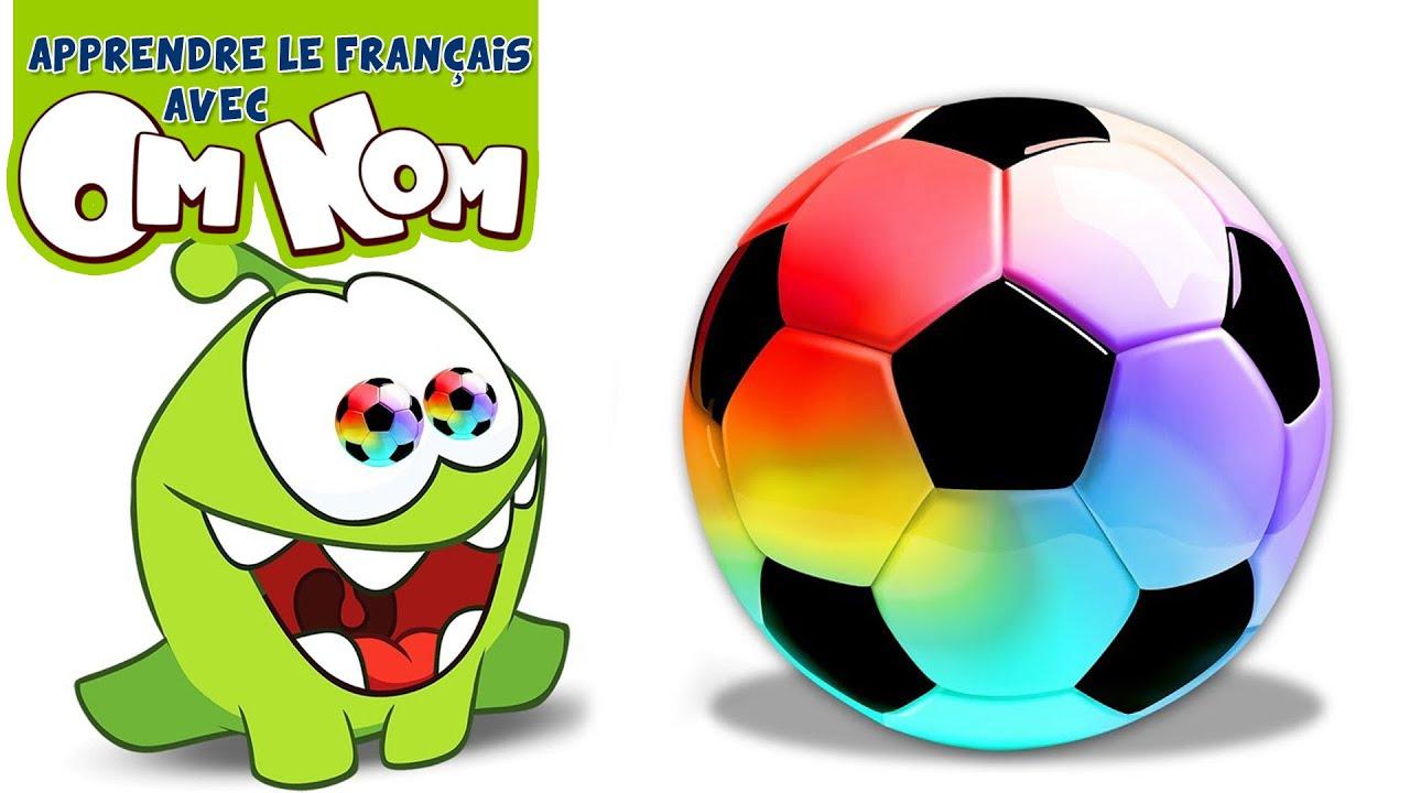 Apprendre Les Couleurs Avec Un Ballon De Football Géant ...