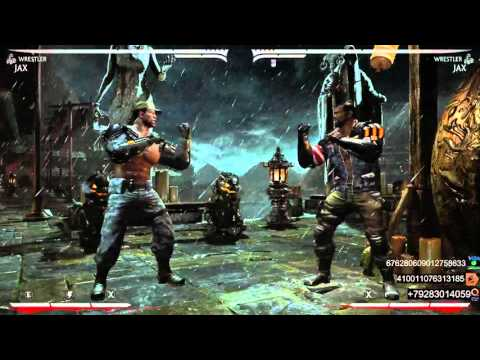 Как успешно делать комбинации в Mortal Kombat X (на примере Джакса)