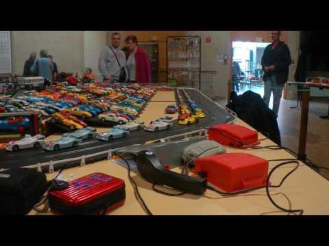 Circuit Routier Slot Car Expo Vieilles Mécanique Scaer Sulky Circuit 24